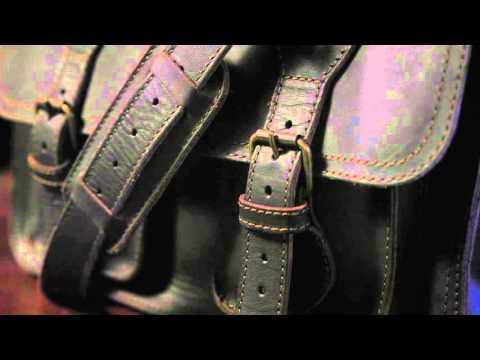 Leather Briefcase Bag - The Denver | Buffalo Jackson Trading Co