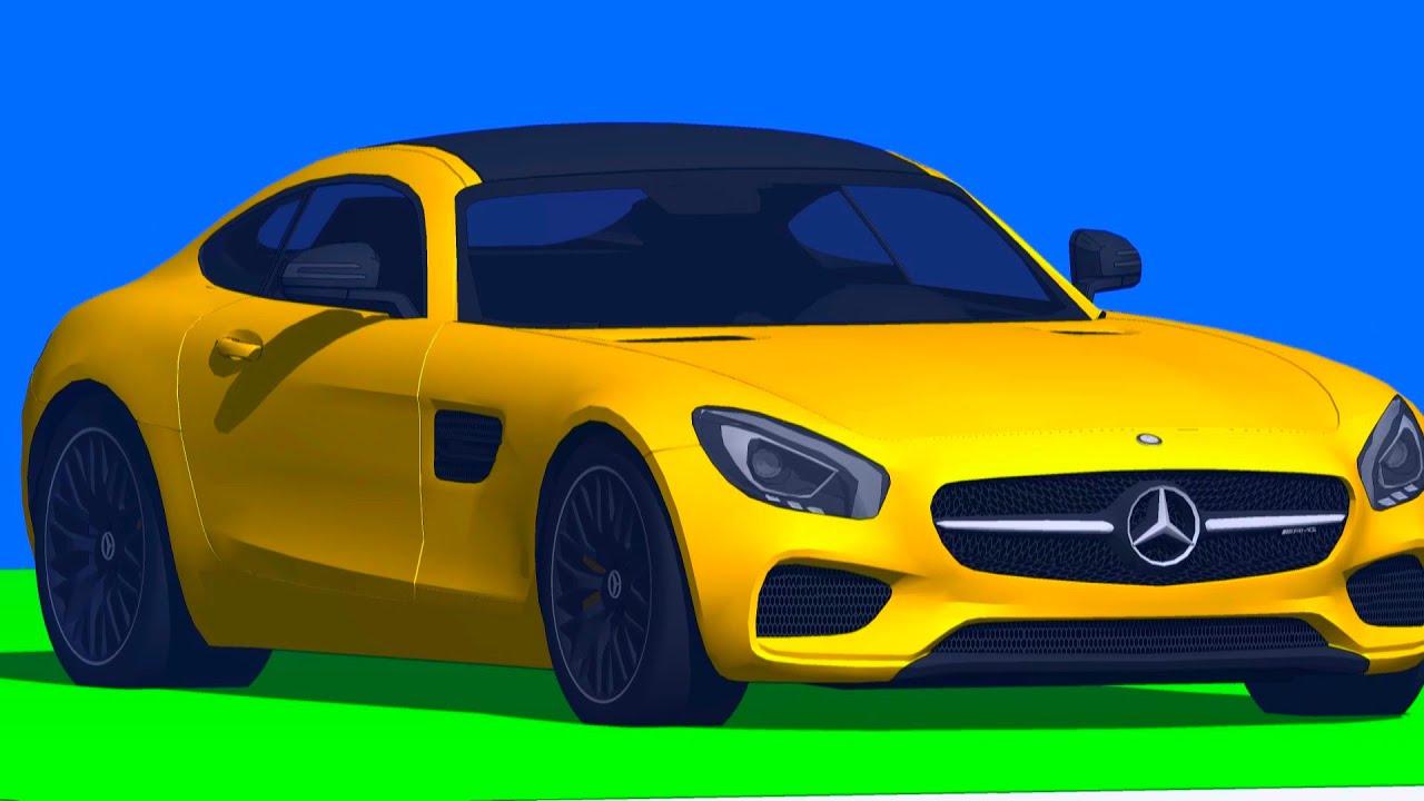 машинки мультики - гонка - гоночная машина - YouTube