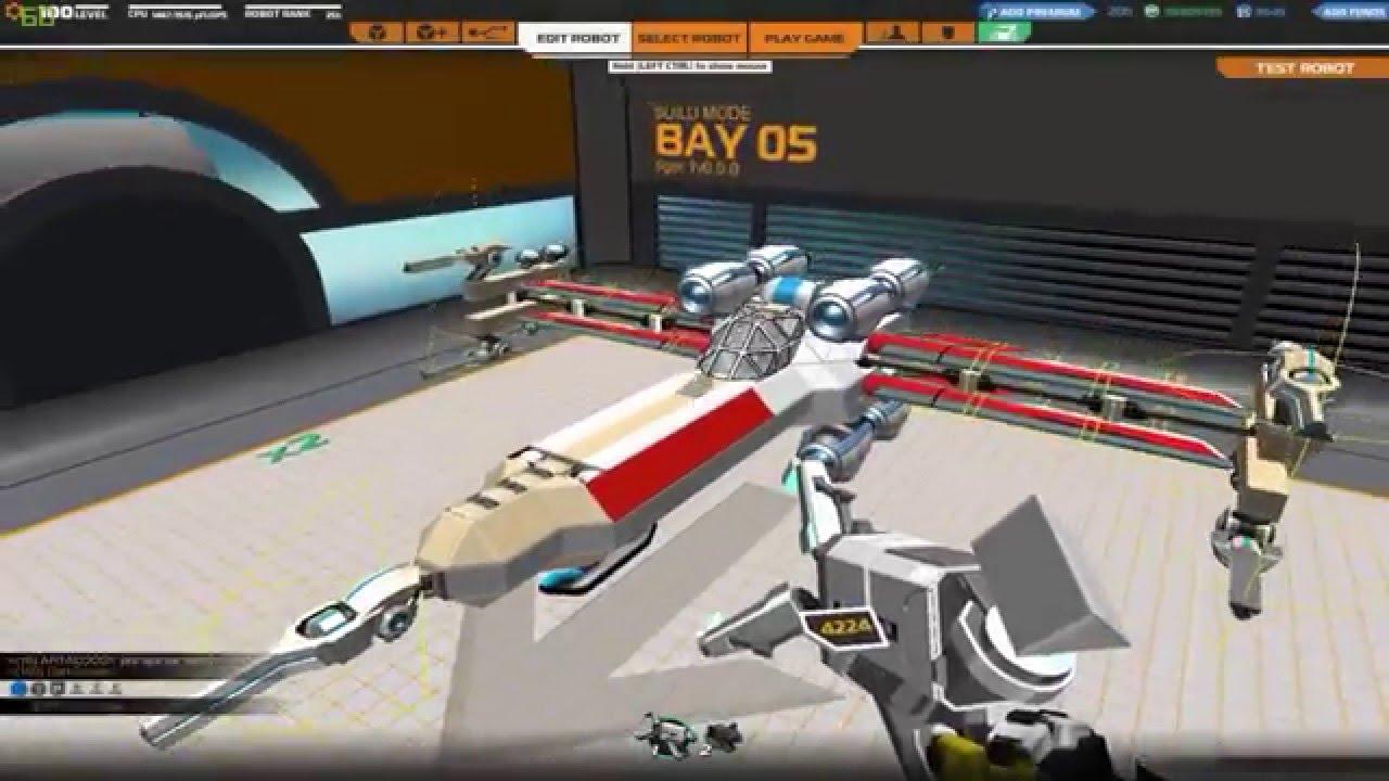 Star Wars X Wing Pixel Art Robocraft Gameplay