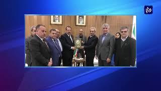 وفد صناعي أردني بطهران واستعداد إيراني لدخول سوق المملكة