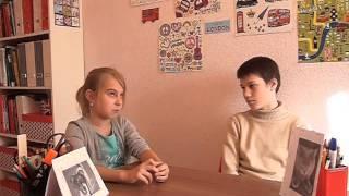 Урок английского языка, дети 10-11 лет