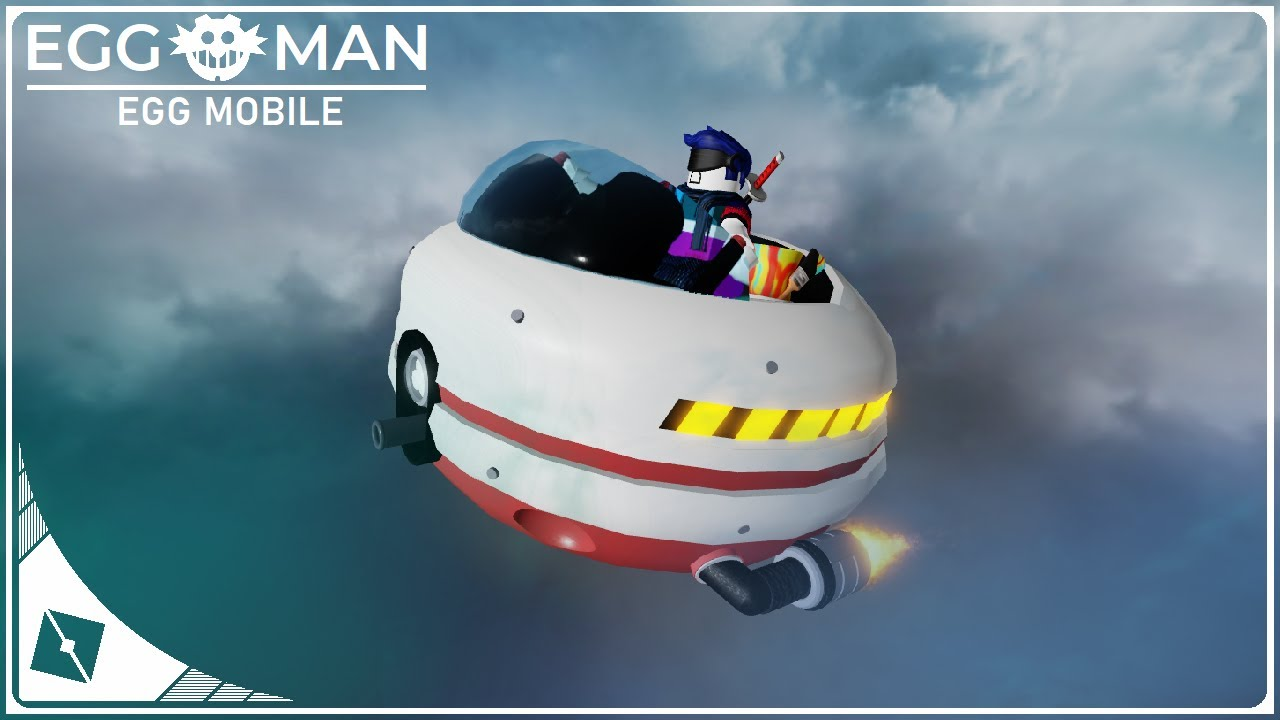 ROBLOX Studio | [SpeedBuild] Eggman Egg Mobile