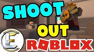 INSANE WILD WEST SHOOTOUT in ROBLOX ( Roblox Wild Revolvers ) I can kill off their whole team