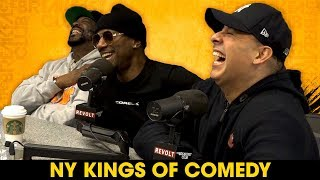 NY Kings Of Comedy Talk Backstage Fights, Tracey Morgan vs. Rob Stapleton + More