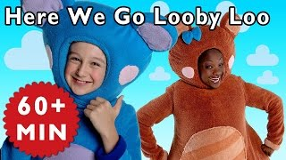 Here We Go Looby Loo and More | Nursery Rhymes from Mother Goose Club!