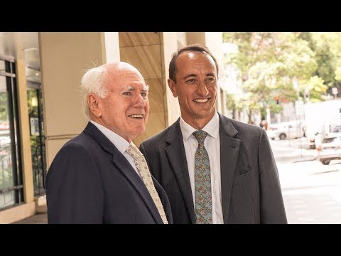 John Howard speaks about Dave Sharma's ability and the real risk of a hung parliament