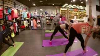 Открытые уроки йоги в магазинах Reebok каждое воскресенье