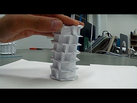 Making Of Origami Cylinder 20131106