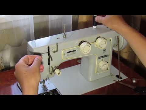 Як заправити нитку в швейній машинці Подольськ142