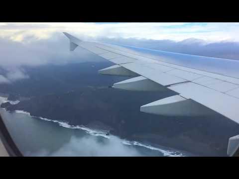 Emirates A380 landing in AKL Auckland