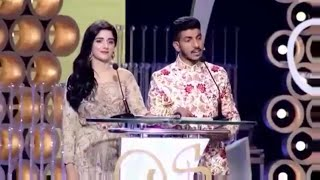 Mohsin Abbas Haider & Mawra Hocane Hosting LSA 2016 - Best Pakistani Dramas