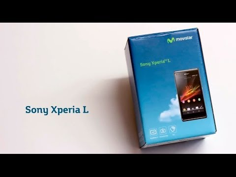 MOVISTAR - Sony Xperia L Unboxing