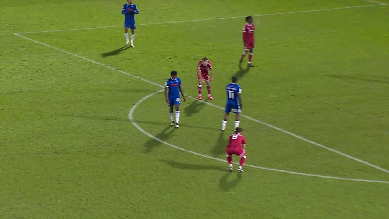 Колчестер Юнайтед  1-1  Кроули Таун видео
