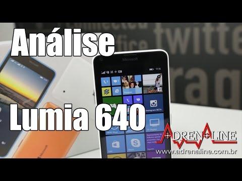 Microsoft Lumia 640 - Boa câmera, boa performance, mas peca na bateria