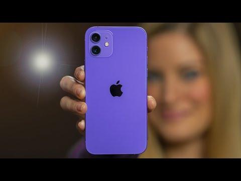 💜 New Purple iPhone 12!