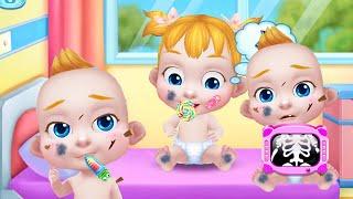 Играем в игру как мультик беби Босс/ Куклы Пупсики заболели, мы их лечим. Уход за малышом. Зырики ТВ