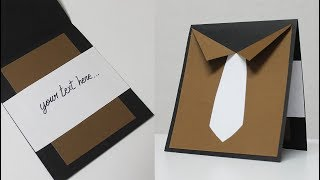 How to make greeting card for father - Father's day card ideas