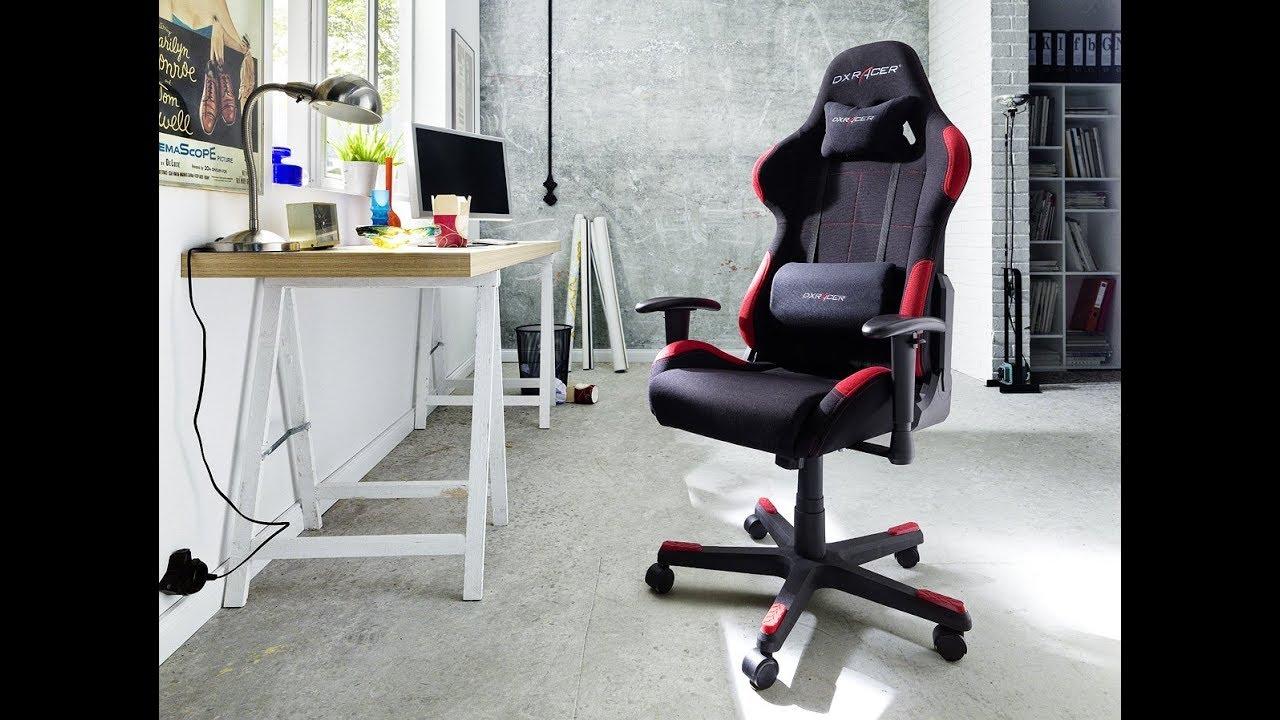 Schreibtischstuhl  DX Racer1, Bürostuhl, Gaming Stuhl, Schreibtischstuhl, Chefsessel ...