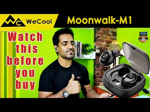 WeCool Moonwalk- M1 earbuds Unbox and full review | watch this before you buy