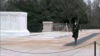 2009 Inauguration: Tomb of the Unknown Soldiers, Arlington National Cemetery