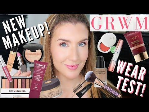 trying-new-makeup-2019-|-grwm-using-drugstore-and-high-end!