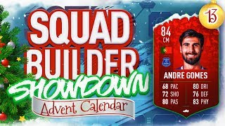 THE SQUAD BUILDER SHOWDOWN ADVENT CALENDAR!!! FUTMAS ANDRE GOMES VS REEV!!! Day 13