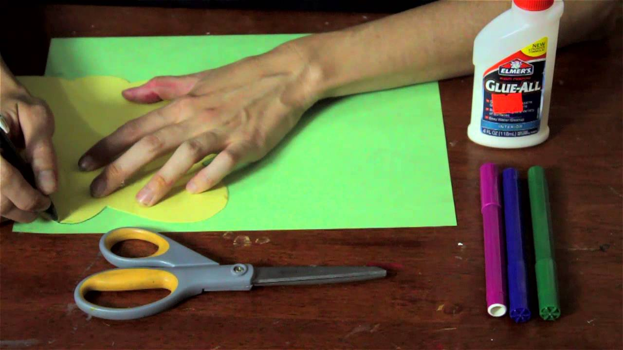 How To Make A Preschool Caterpillar Butterfly Craft For A