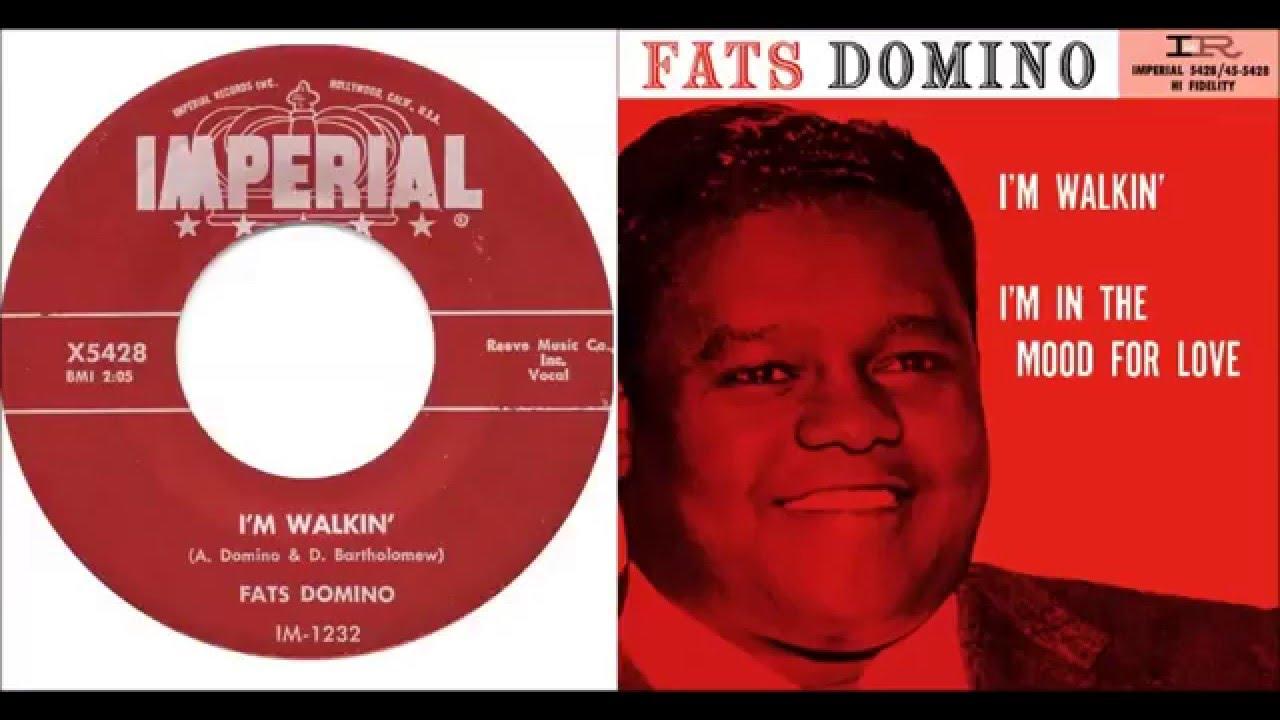 Fats Domino - I'm Walkin' - January 3, 1957 - YouTube