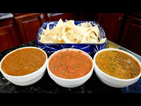 The Best Mexican Salsa Roja Recipe   Boiled, Fresh,  Roasted Salsa