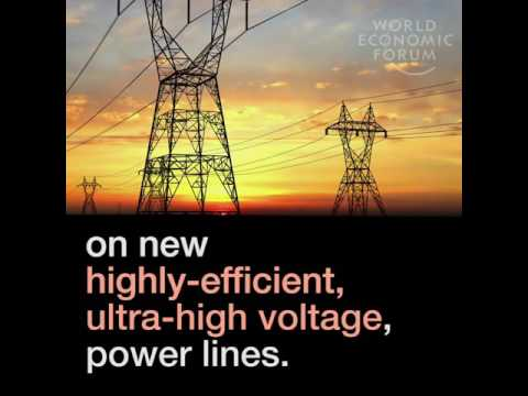 China's worldwide power grid