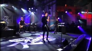 Garbage Kimmel Oct 4 2012 Control and Blood For Poppies partial