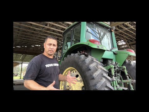 Tractor Tire Repair 18.4-38 (Instructional) Part 1