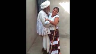 Funny dance by old men
