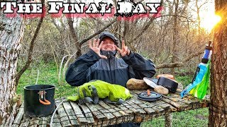 Final Day in the Wild Day 7 of 7 Day $100 Walmart Survival Challenge