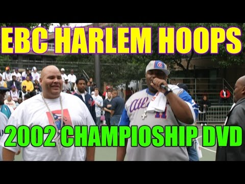 2002 EBC Harlem Hoops DVD (Fat Joe's 1st Chip)