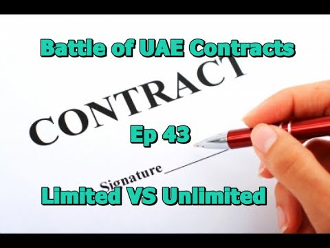 DuBlog Episode 43: Battle of the Contracts (Unlimited VS Unlimited Job Contract in the UAE)