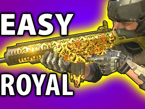 HOW TO GET EASY ROYALTY CAMO FOR ASSAULT RIFLES: Advanced Warfare Tips