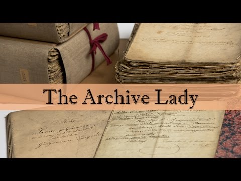 The Archive Lady - March 2017