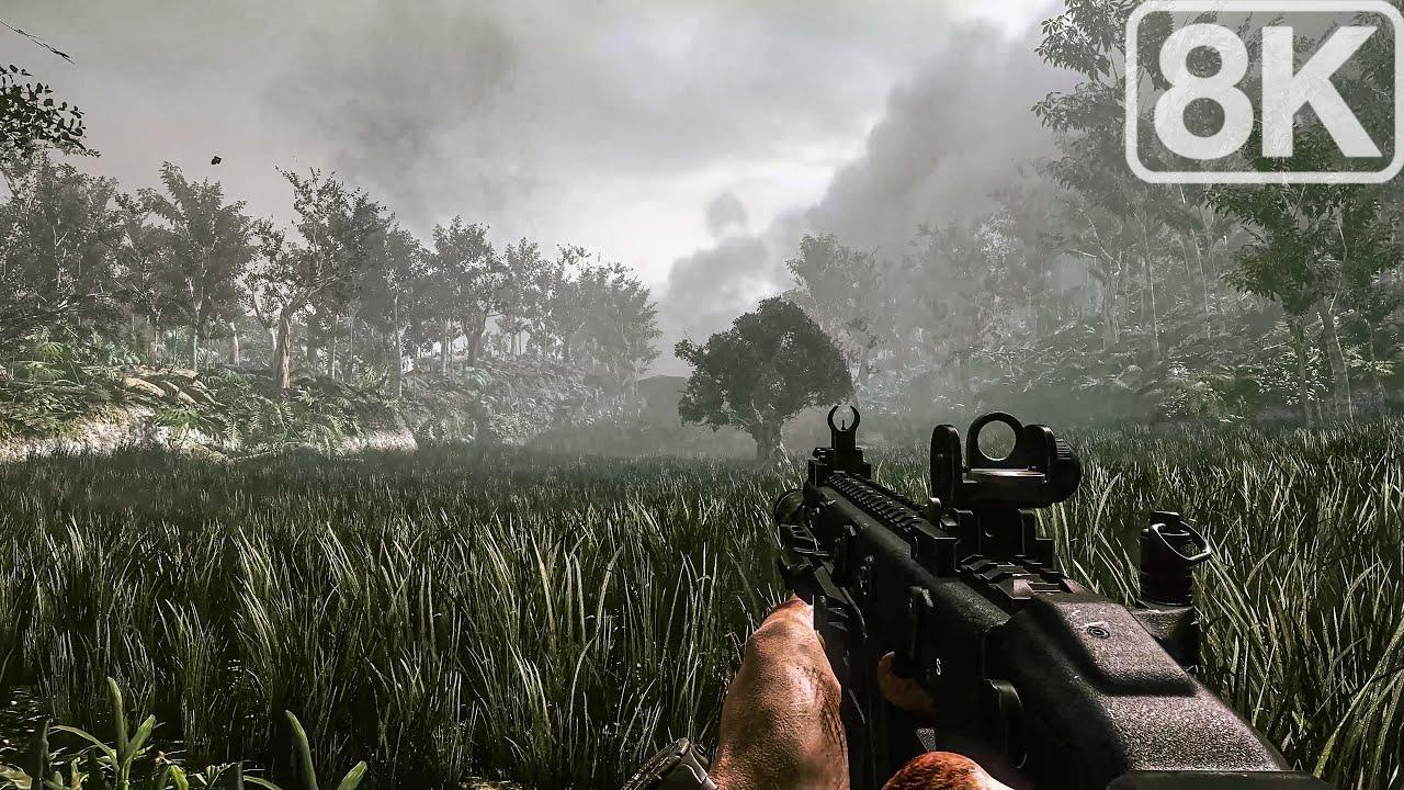Yucatan jungle Ghost Hunt - Call of Duty Ghosts - 8K