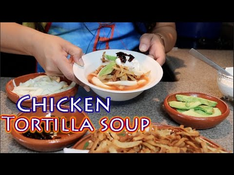 Delicious Chicken Tortilla Soup