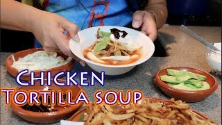 Chicken Tortilla Soup (How To)