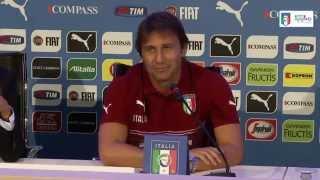 Antonio Conte - la conferenza stampa integrale dell