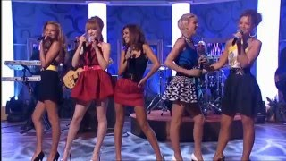 girls aloud cant speak french live performance on paul ogrady
