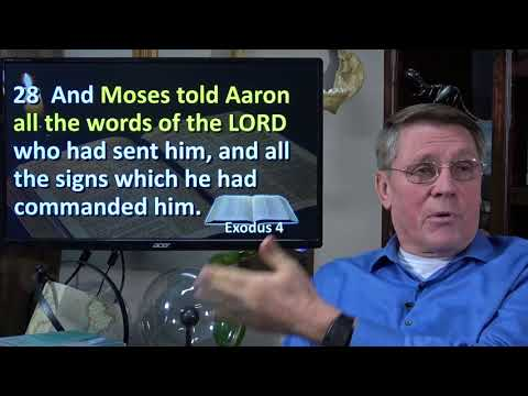 Dr. Kent Hovind 1-7-18 Exodus Chapter 5, Have you ever had your life's plans dashed?