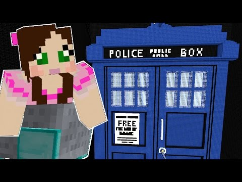 Minecraft: DOCTOR WHO ROLLER COASTER (TRAVEL THROUGH TIME!)