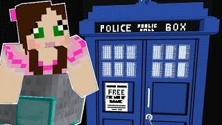 Repeat youtube video Minecraft: DOCTOR WHO ROLLER COASTER (TRAVEL THROUGH TIME!)