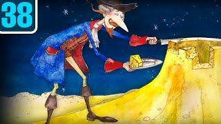 Волшебный фонарь. Мюнхгаузен на Луне. Школьная программа по литературе в мультиках. Серия 38