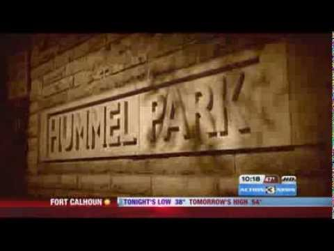 PRISM Paranormal Research Team on CBS KMTV News @ Hummel Park Omaha NE 2013