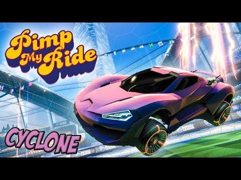 PIMP MY ROCKET LEAGUE RIDE - CYCLONE