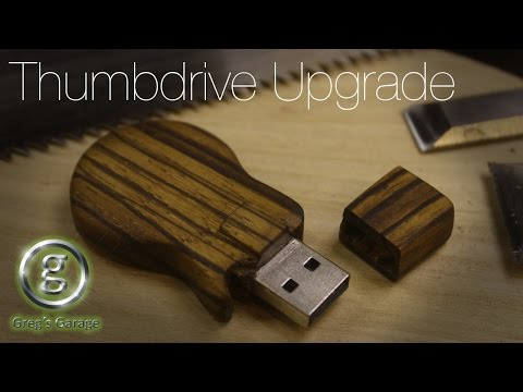 Make a Les Paul USB Thumb Drive